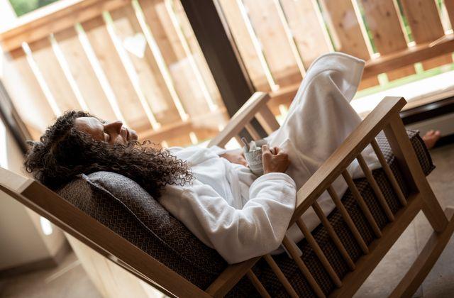 Entspannen im Streklhof Wellness Stadl