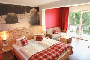 Suite mit Holzboden