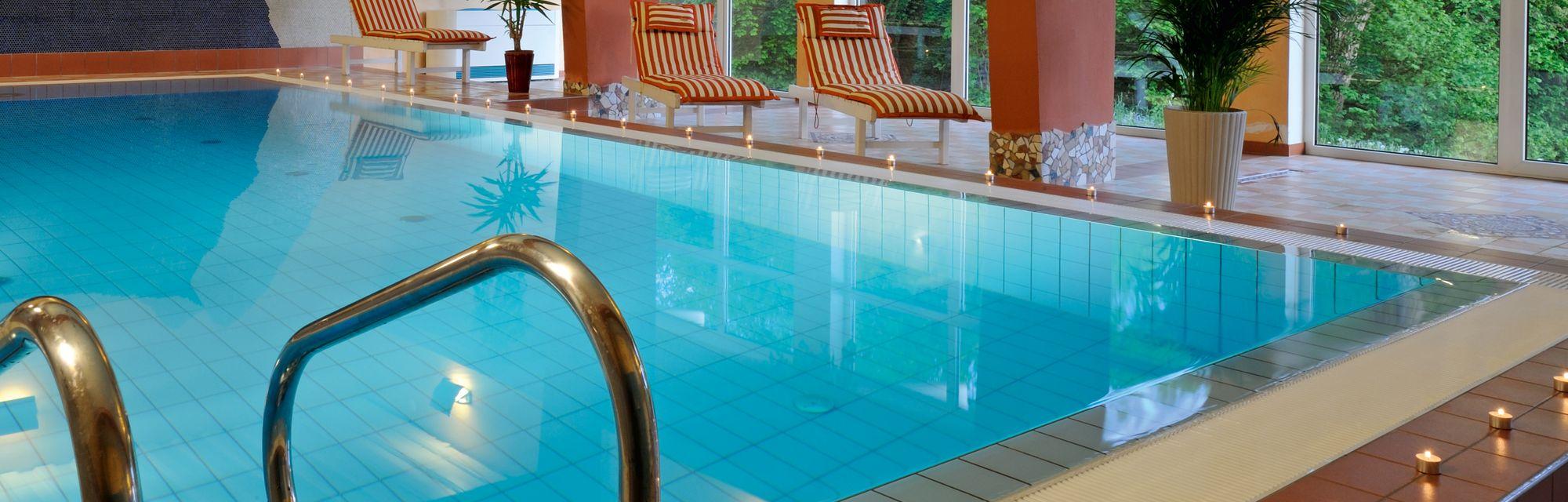 Beheizter Indoor-Pool im Streklhof