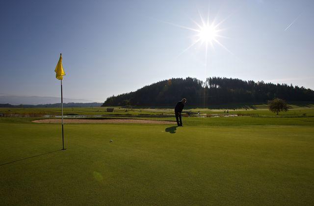Golf in Kärnten| ©Kärnten Werbung/Steinthaler
