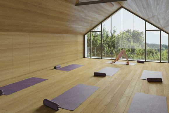 Yogaraum im Streklhof