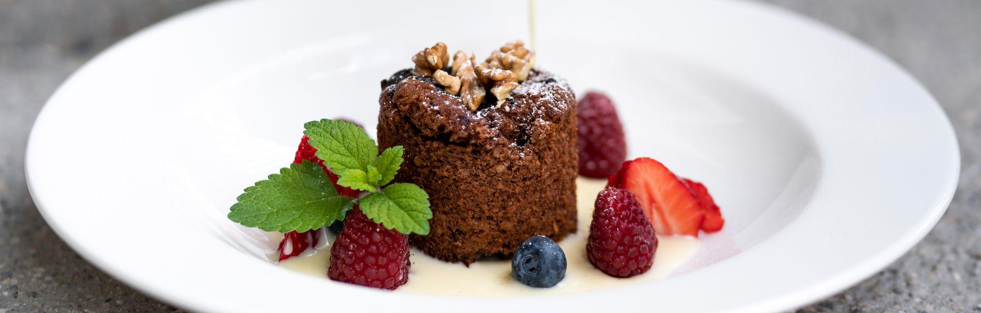 Köstliche Desserts im Streklhof