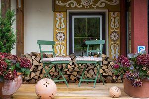 Gemütliche Sitzecke im Streklhof